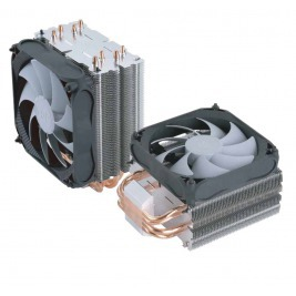 FSP/Fortron Chladič CPU Windale 4 Cooler AC401, 4 Heat-Pipe, 180W TPD, 120 mm PWM