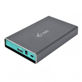 i-tec MySafe USB 3.0, External case for hard drive 2.5'' 9.5mm SATA I/II/III HDD/SSD