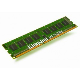 4GB DDR3-1333MHz Kingston CL9 SR x8 STD Height30mm