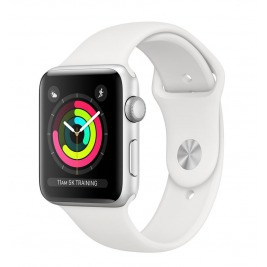 Watch S3, 38mm, Silver AC/White Sport Band