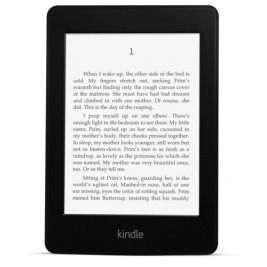 E-book AMAZON KINDLE PAPERWHITE 4 2018, 6'' 8GB E-ink displej, WIFi, BLACK, SPONZOROVANÁ VERZE
