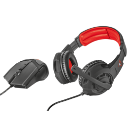 set TRUST GXT 784 Gaming Headset & Mouse