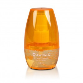 4World Čistící Gel 50ml + hadřík ORANGE