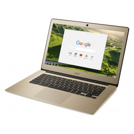 "Acer Chromebook 14 - 14""/N4200/4G/128GB/Chrome zlatý"