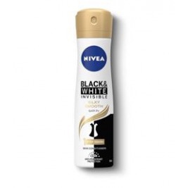 NIVEA Antiperspirant spray Black & White Silky Smooth 150 ml