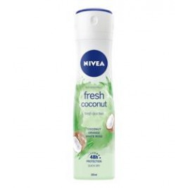 NIVEA Fresh Coconut Sprej antiperspirant 150 ml