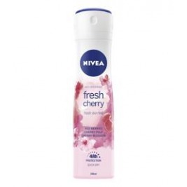 NIVEA Fresh Cherry Sprej antiperspirant 150 ml