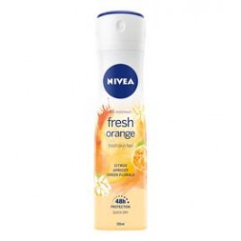 NIVEA Fresh Orange Sprej antiperspirant 150 ml