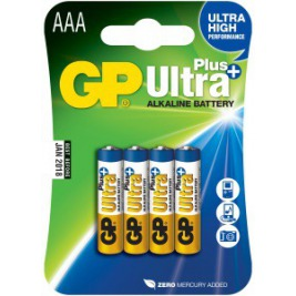 GP Ultra Plus 4x AAA
