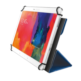 TRUST Aexxo Universal Folio Case for 10.1'' tablets - blue