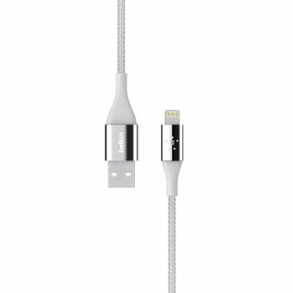 BELKIN MIXIT KEVLAR Lightning - USB Cable, silver, 1,2m