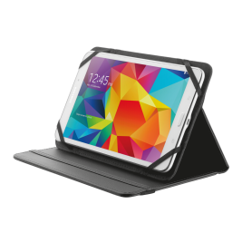TRUST Primo Folio Case with Stand for 7-8'' tablets - black