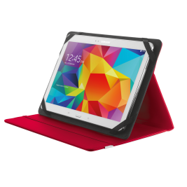 TRUST Primo Folio Case with Stand for 10'' tablets - red