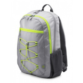 HP 15.6 Active Backpack (Grey/Neon Yellow)